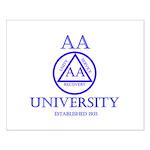 AA University Posters