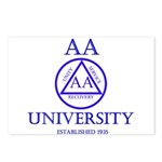 AA University Postcards (Package of 8)