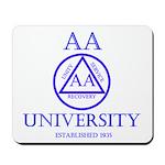 AA University Mousepad