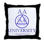 AA University Throw Pillow