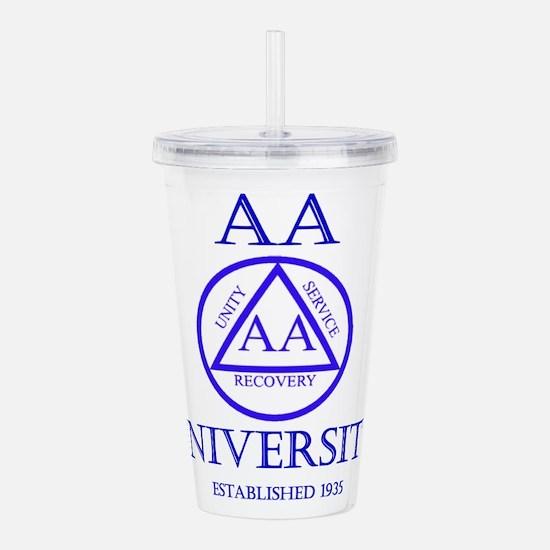 AA University Acrylic Double-wall Tumbler