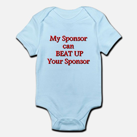 My Sponsor Can Beat Up Your Sponsor Body Suit