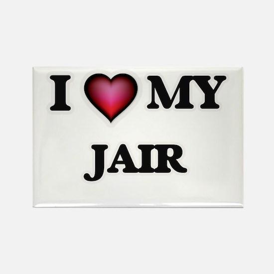 I love Jair Magnets
