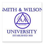 Smith Wilson University Square Car Magnet 3