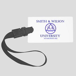 Smith Wilson University Luggage Tag