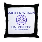 Smith Wilson University Throw Pillow