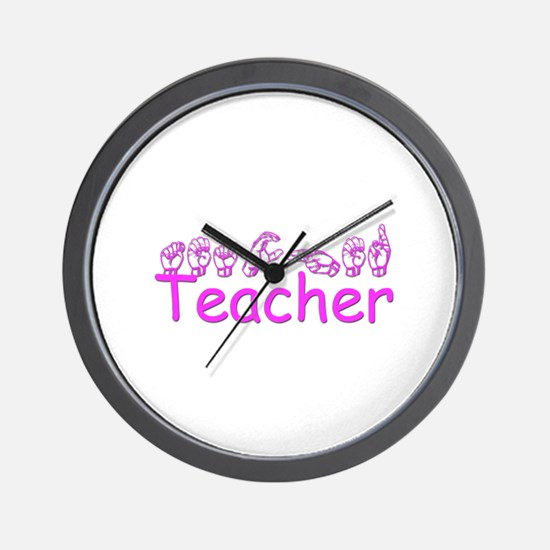 Teacher Wall Clock
