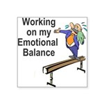 Working on My Emotional Balance Sticker