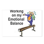 Working on My Emotional Balance Postcards (Package
