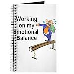 Working on My Emotional Balance Journal