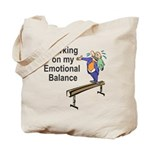 Working on My Emotional Balance Tote Bag