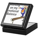 Working on My Emotional Balance Keepsake Box