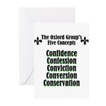 5-concepts Greeting Cards