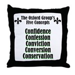 5-concepts Throw Pillow