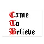 came-to-believe-oldeng Postcards (Package of 8