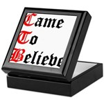 came-to-believe-oldeng Keepsake Box