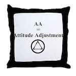Attitude Adjustment Throw Pillow