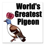 greatestpigeon Square Car Magnet 3