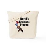 greatestpigeon Tote Bag