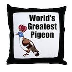 greatestpigeon Throw Pillow