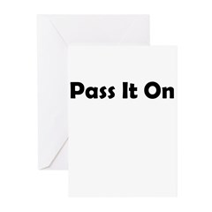 pass-it-on Greeting Cards