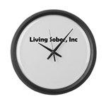 living-sobr-inc Large Wall Clock