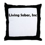 living-sobr-inc Throw Pillow