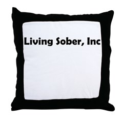 living-sobr-inc Throw Pillow