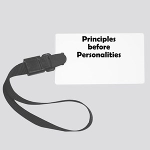 principles=personlaities Luggage Tag