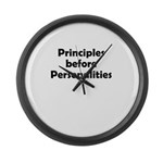 principles=personlaities Large Wall Clock