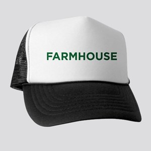 Farmhouse Fraternity Green Crest Trucker Hat