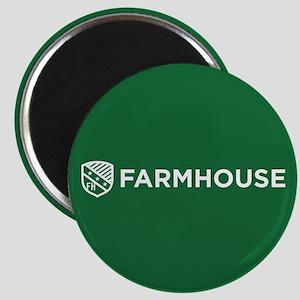 Farmhouse Fraternity Green Crest Magnet