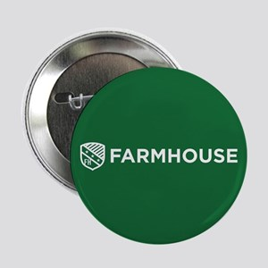 "Farmhouse Fraternity Green Crest 2.25"" Button"