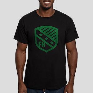 Farmhouse Fraternity G Men's Fitted T-Shirt (dark)