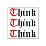 think-think-think-old-english Sticker