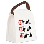 think-think-think-old-english Canvas Lunch Bag