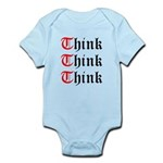 think-think-think-old-english Body Suit