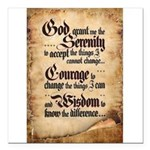 serenity-scroll Square Car Magnet 3