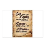 serenity-scroll Postcards (Package of 8)