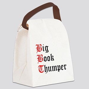 big-book-thumper-2 Canvas Lunch Bag