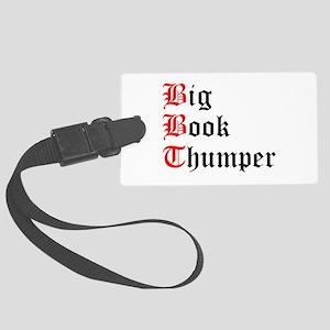 big-book-thumper-2 Luggage Tag