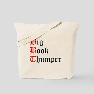 big-book-thumper-2 Tote Bag