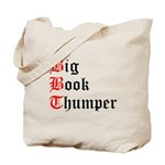 big-book-thumper-2 Tote Bag