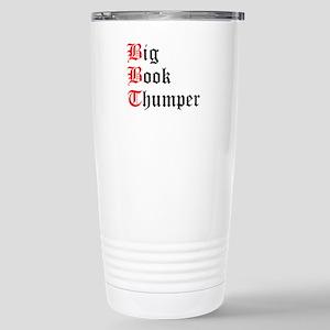 big-book-thumper-2 Travel Mug