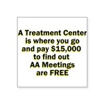 meetings-free Sticker