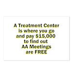 meetings-free Postcards (Package of 8)