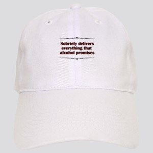 sobriety-delivers Baseball Cap