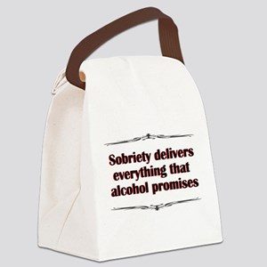 sobriety-delivers Canvas Lunch Bag