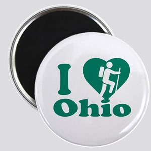 Love Hiking Ohio Magnet