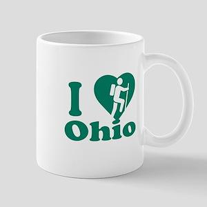 Love Hiking Ohio Mug